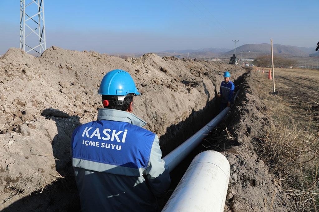 KASKİ'den Alt Yapıya 103 Milyon Liralık Yatırım