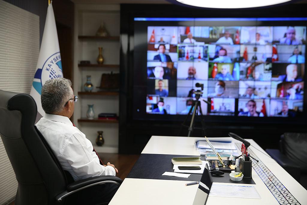 Başkan Büyükkılıç, İl Pandemi Kurul Toplantısına Katıldı