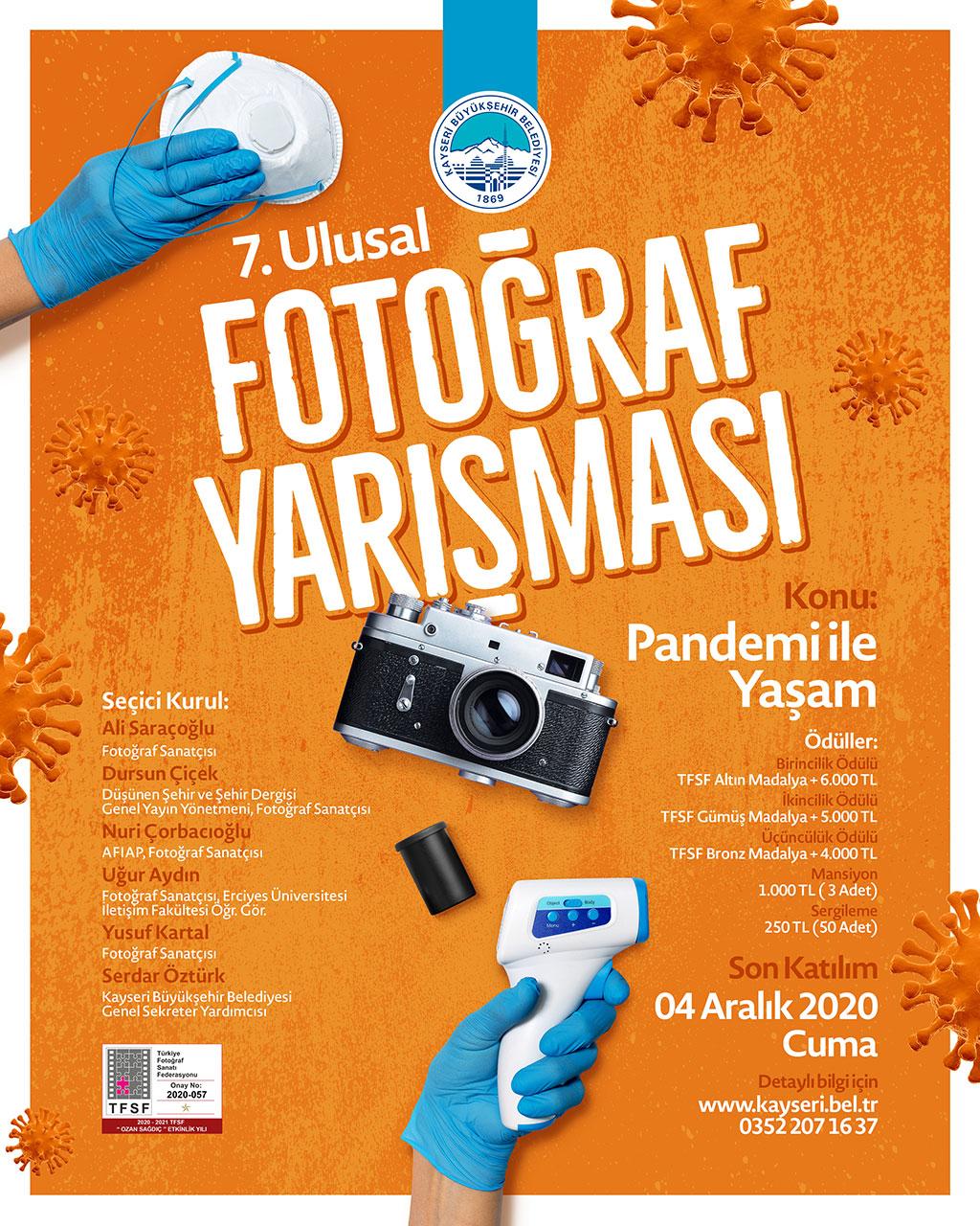 Büyükşehir'den 7'nci Ulusal Fotoğraf Yarışması