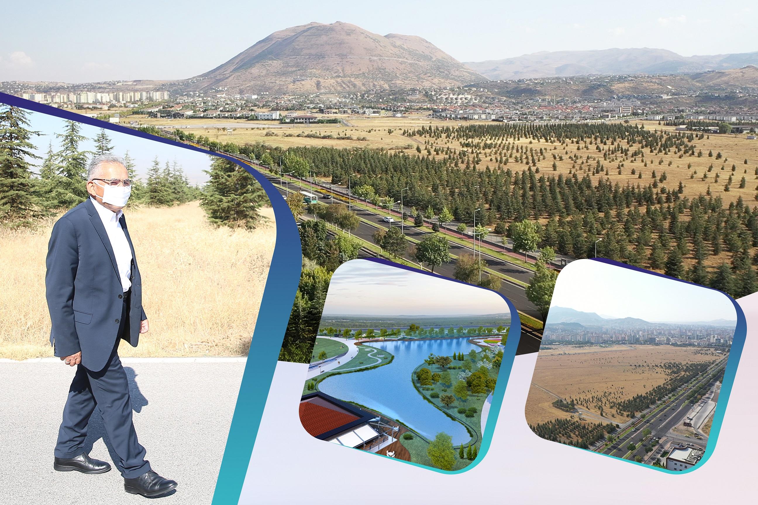 Kayseri'nin Çehresini Değiştirecek Projede Çalışmalar Başladı