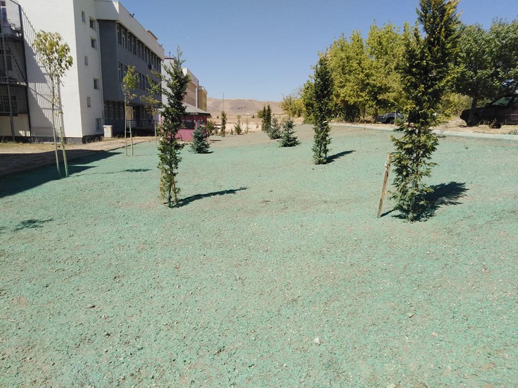 Üniversite Bahçesine Büyükşehir Dokunuşu