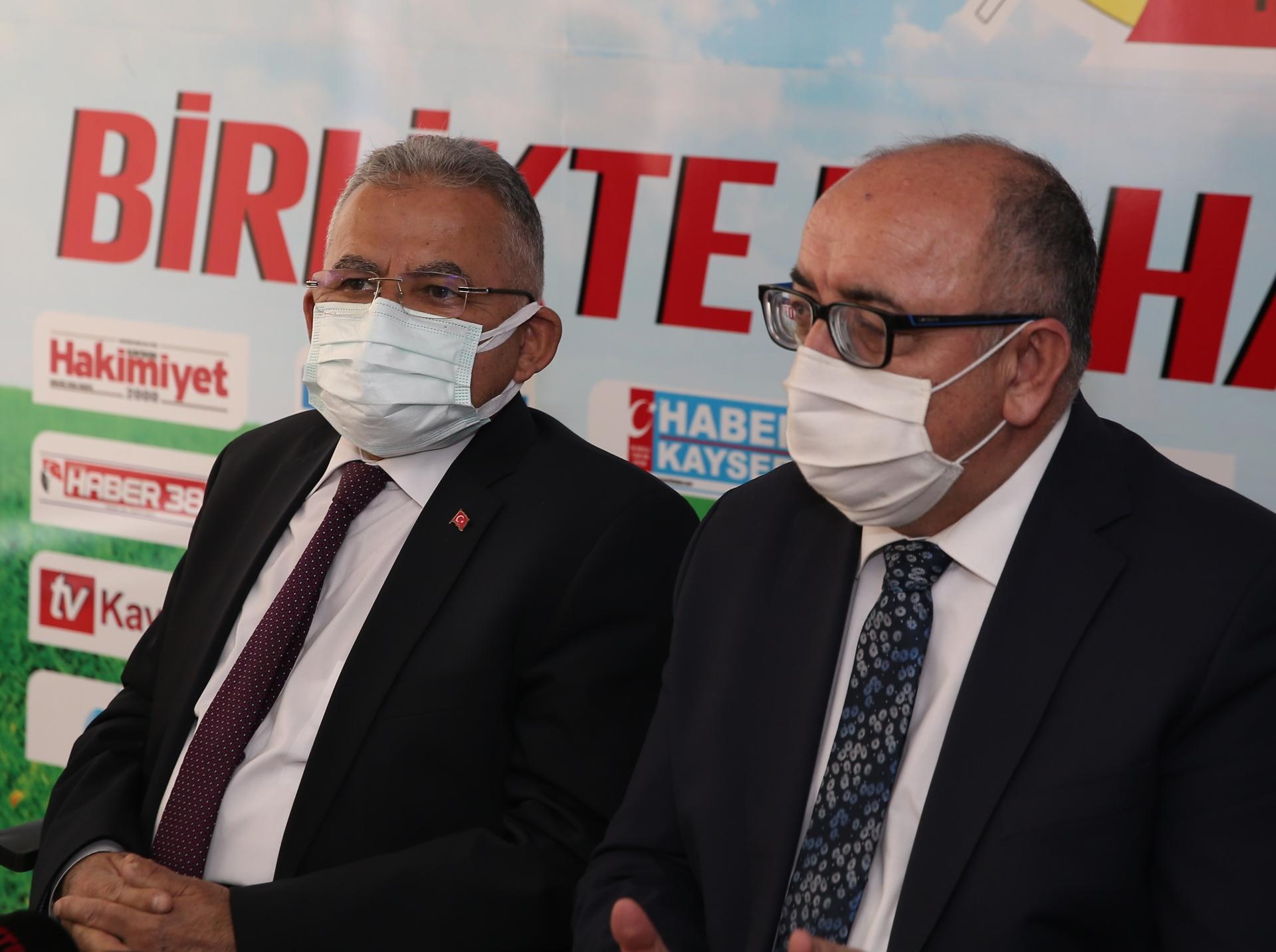 Başkanlardan Gazetecilere '10 Ocak' Ziyareti