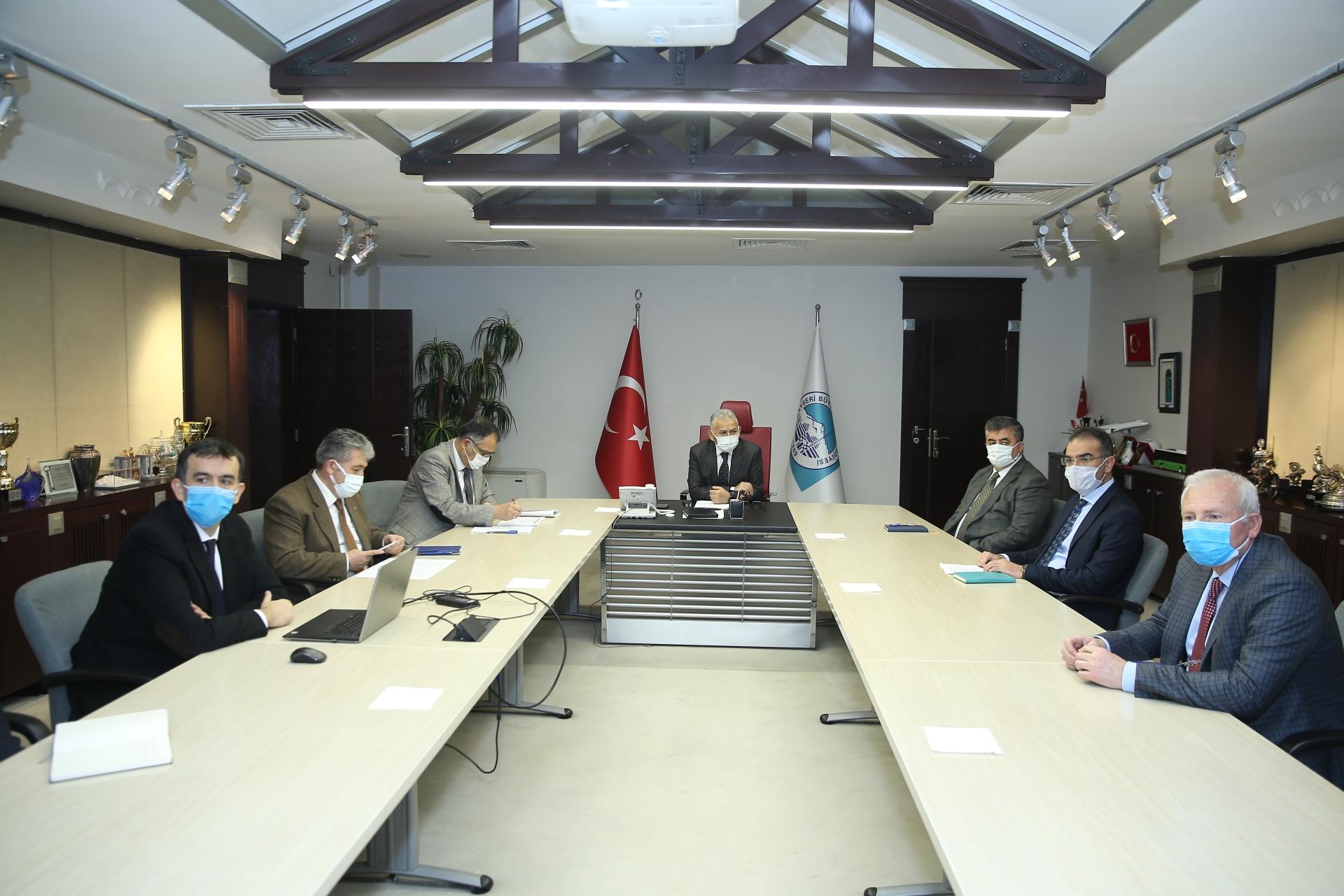 Büyükşehir'de Yılın İlk Ulaşım Toplantısı