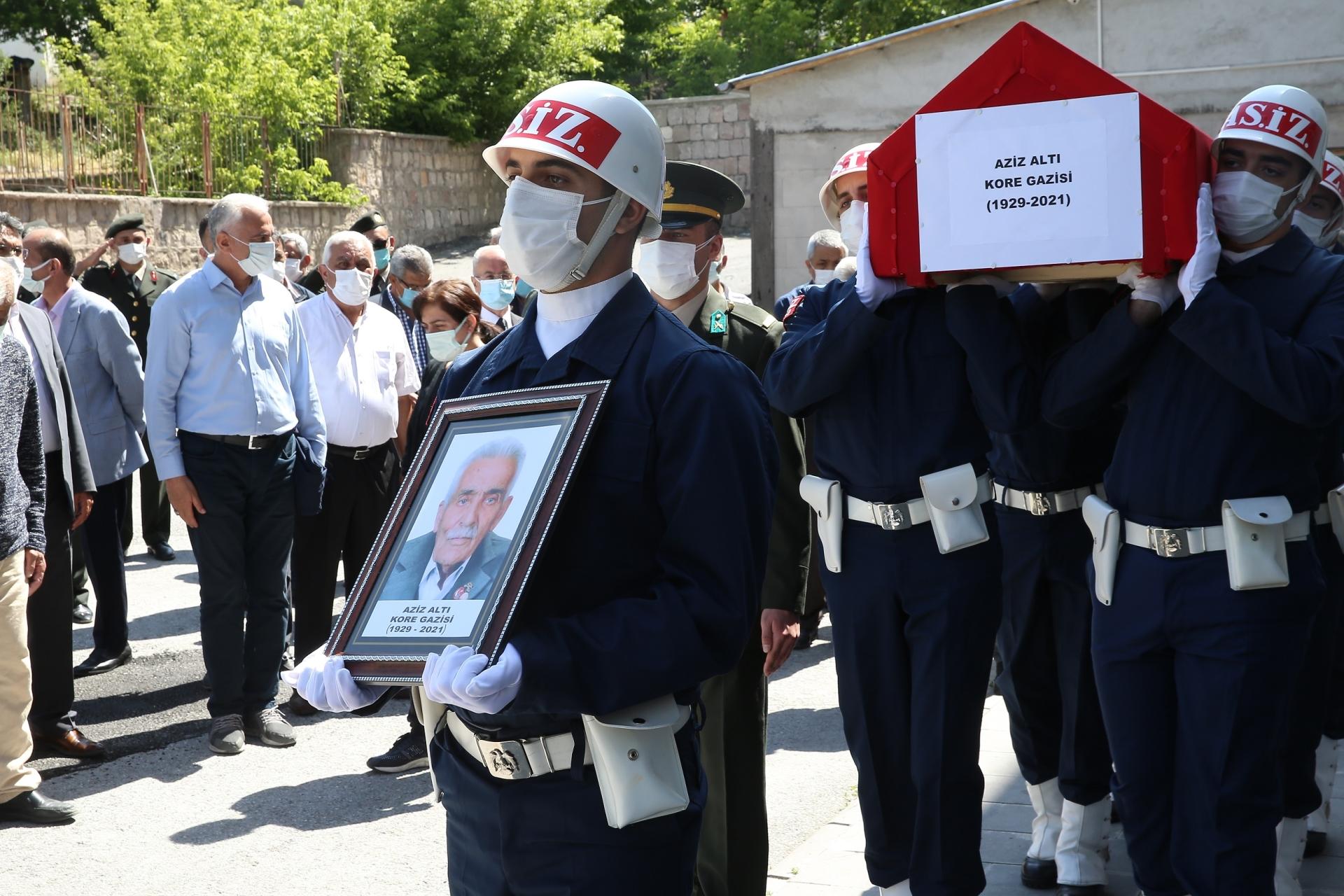 Başkan Büyükkılıç'tan Kore Gazisi'ne Son Görev