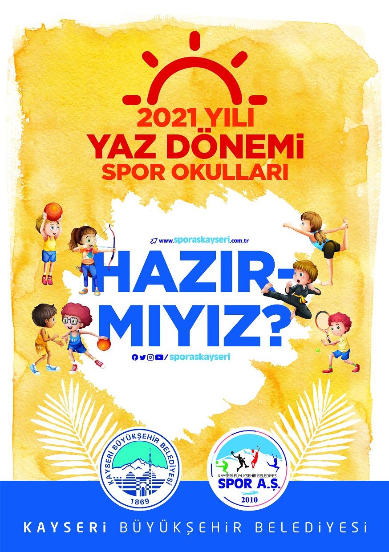 Büyükşehir'in Yaz Spor Okul Kayıtları Başladı