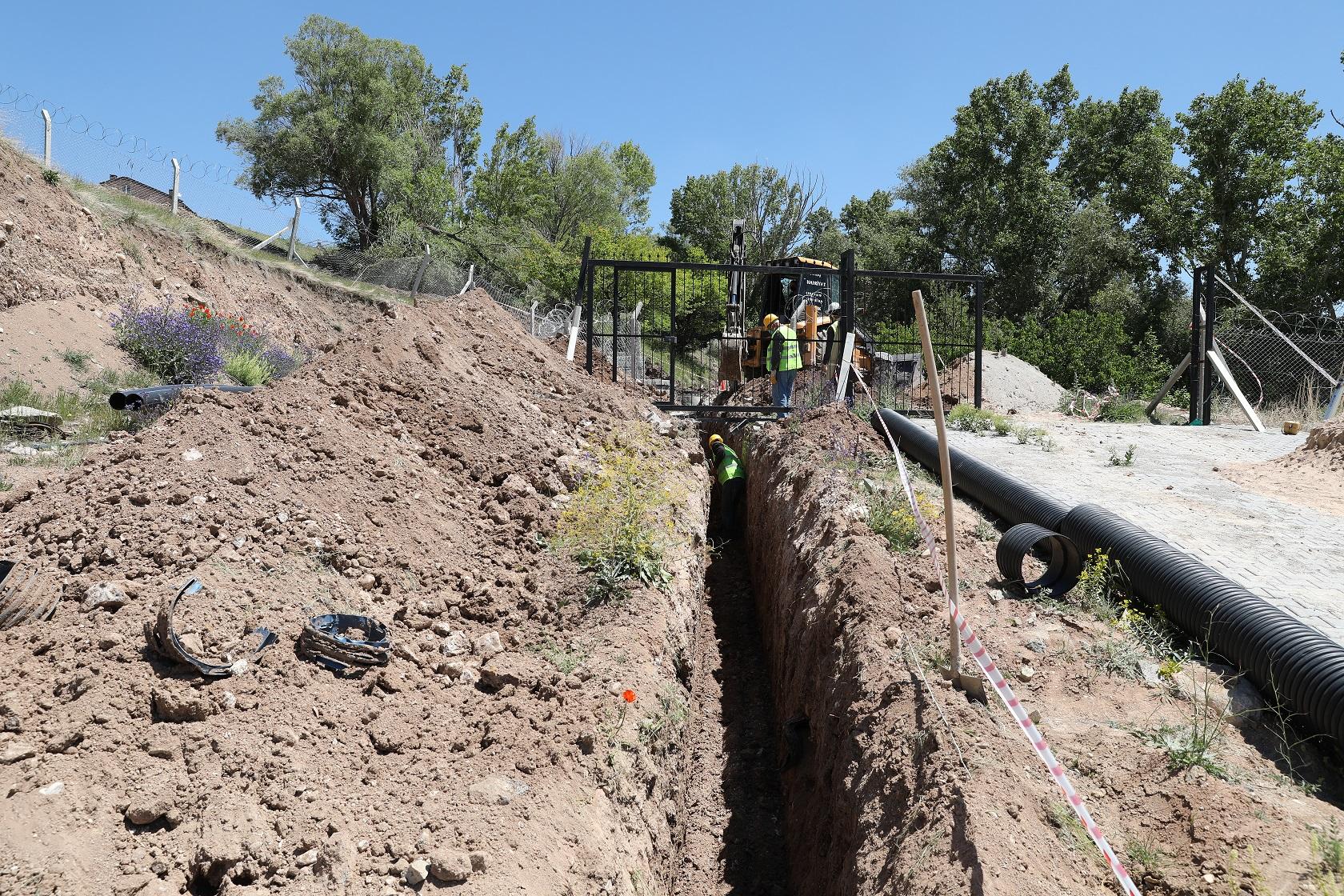 KASKİ, Bünyan'da 3 Mahalleyi Atıksulardan Kurtardı