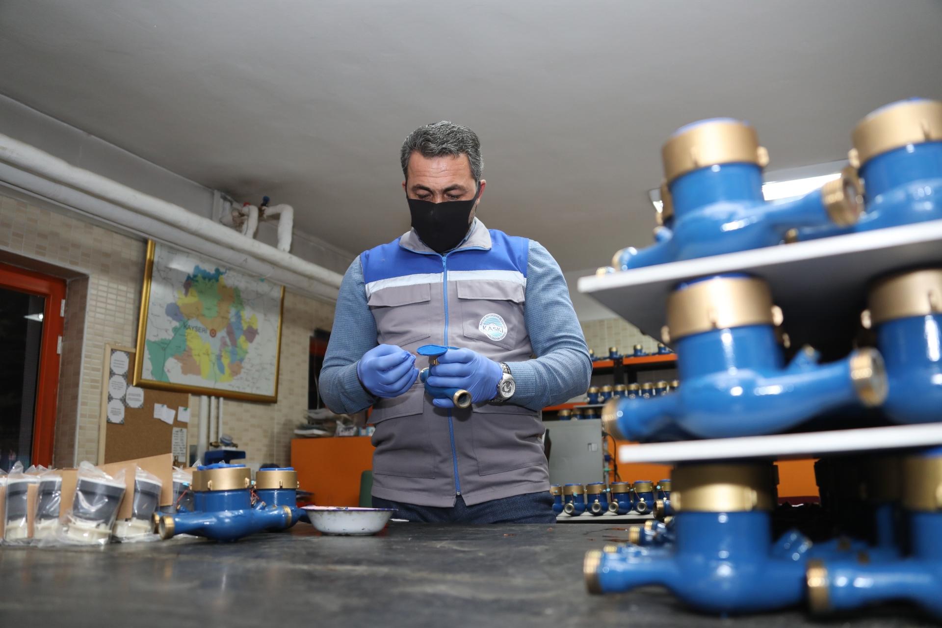 KASKİ, Eskiyen Su Sayaçlarını Yeniliyor