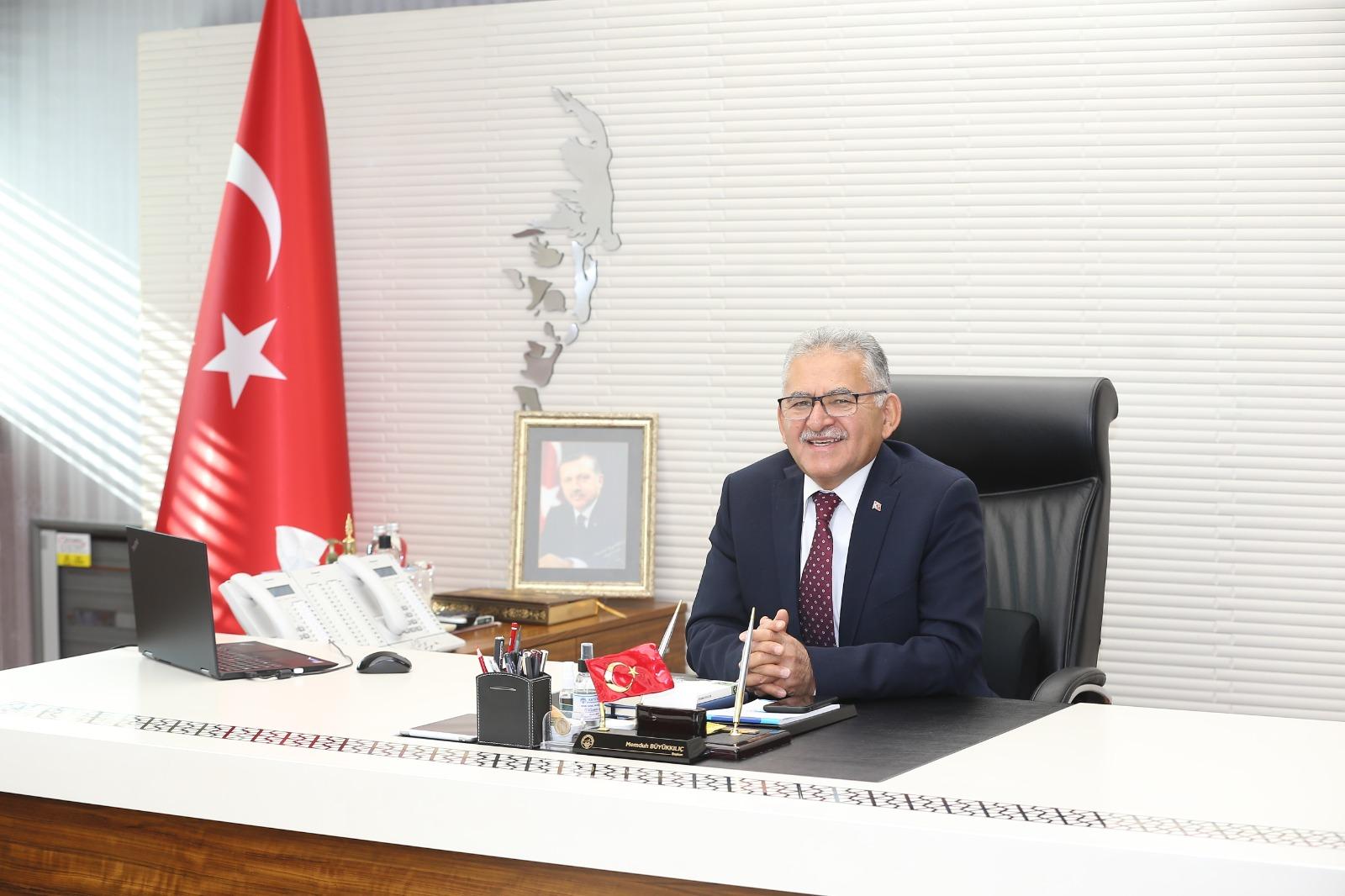 Başkan Büyükkılıç'tan 24 Temmuz Gazeteciler ve Basın Bayramı