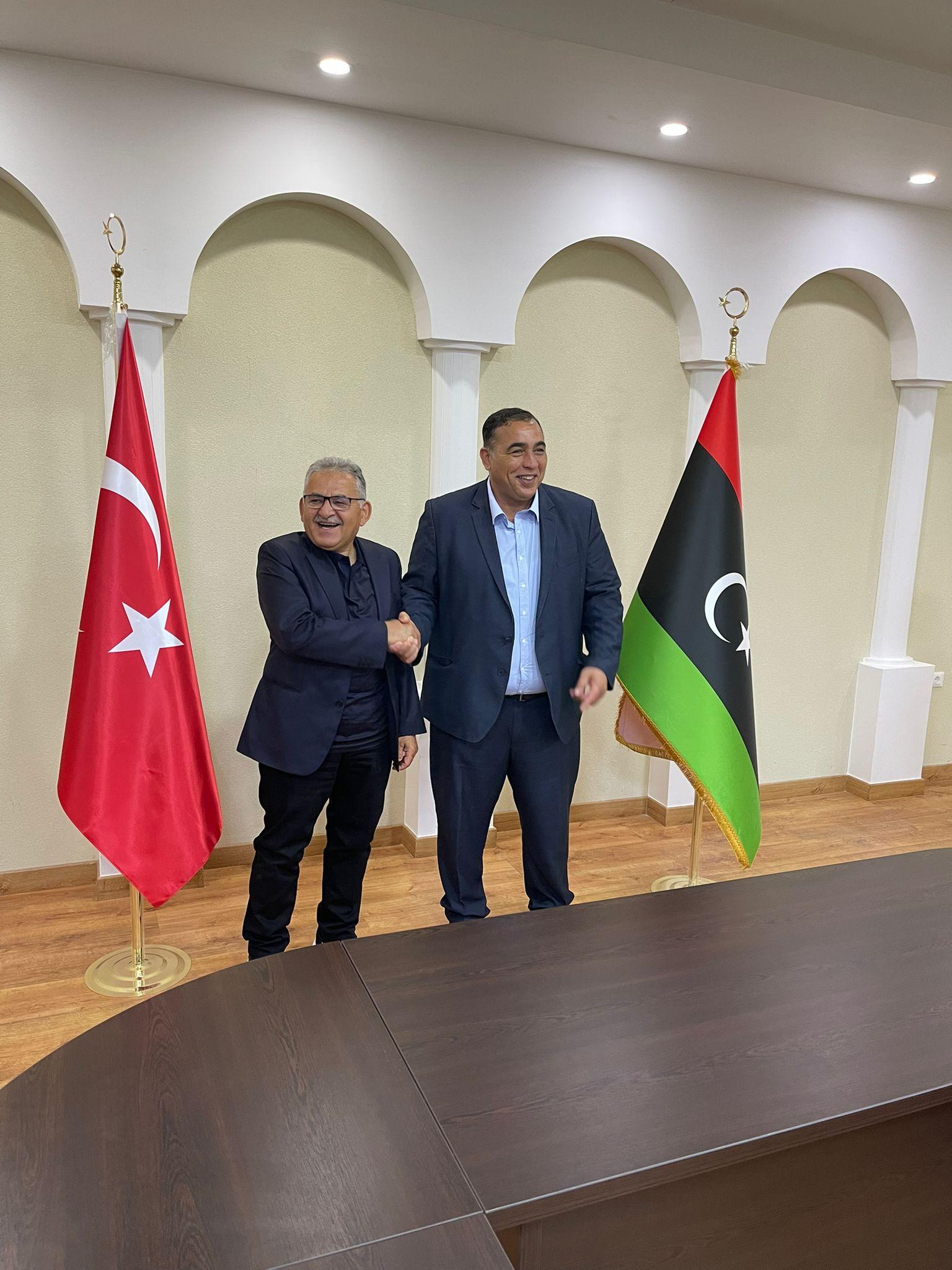'Kardeş Şehir' Başkanları Libya'da Buluştu