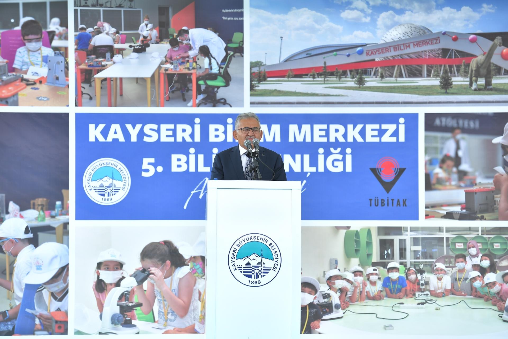 Başkan Büyükkılıç, 5. Bilim Şenliği Açılışına Katıldı