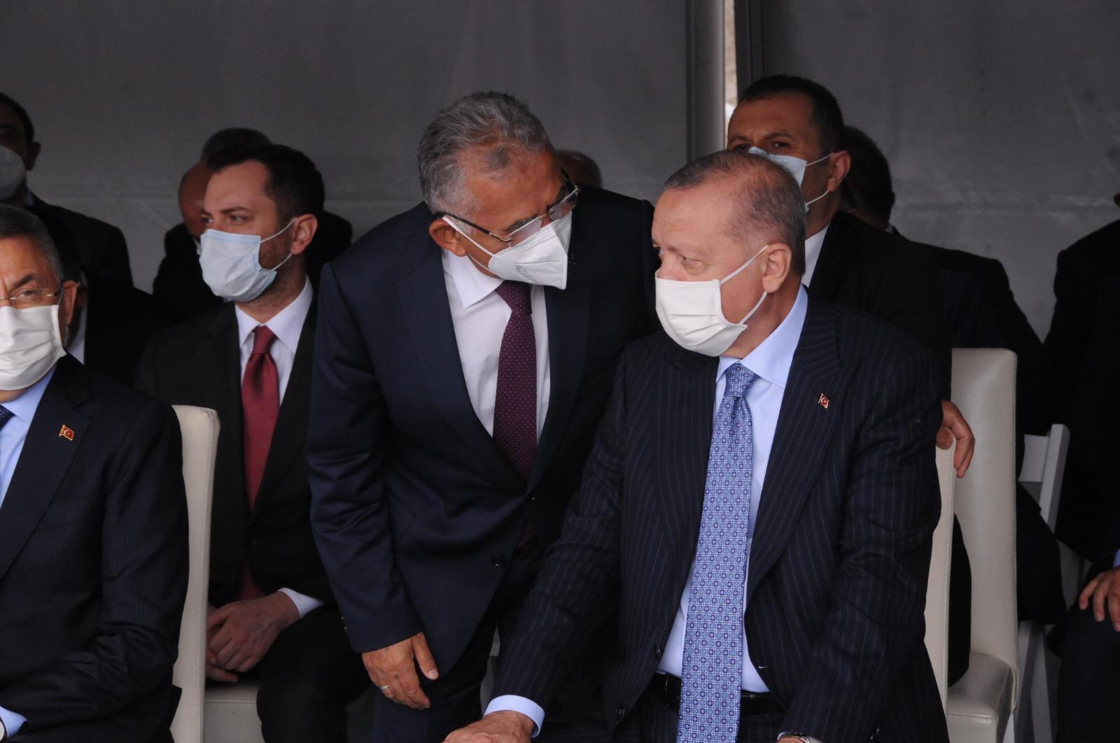 Başkan Büyükkılıç, Kırşehir'de Cumhurbaşkanı Erdoğan ile Görüştü