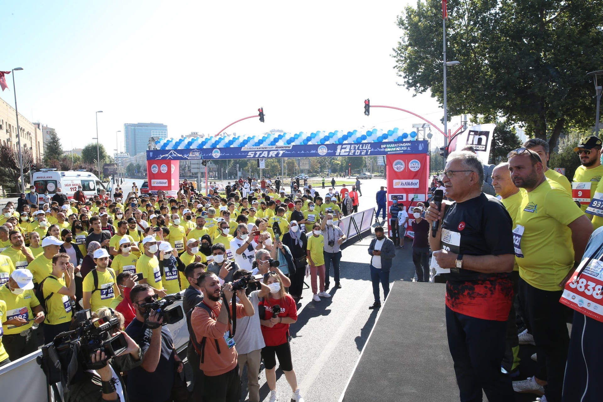 Başkan Büyükkılıç, Sağlıklı Yaşam İçin 1000 Bisiklet Hediye Etti