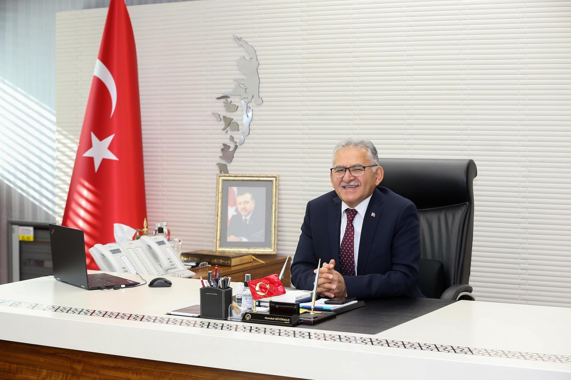 """Başkan Büyükkılıç'tan """"Gaziler Günü"""" Mesajı"""