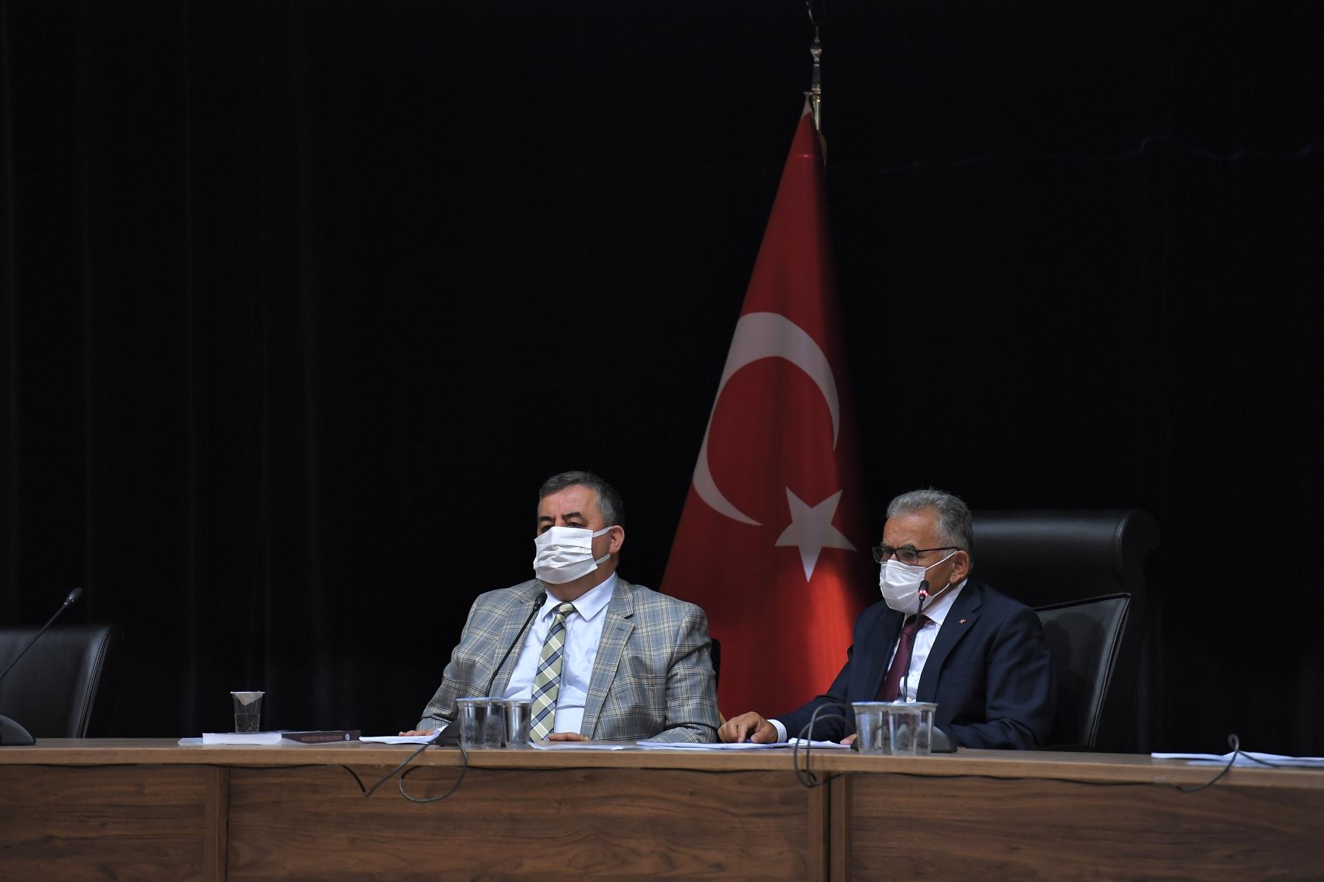 Büyükşehir, Eylül Ayı Meclis Toplantısı'nı Gerçekleştirdi