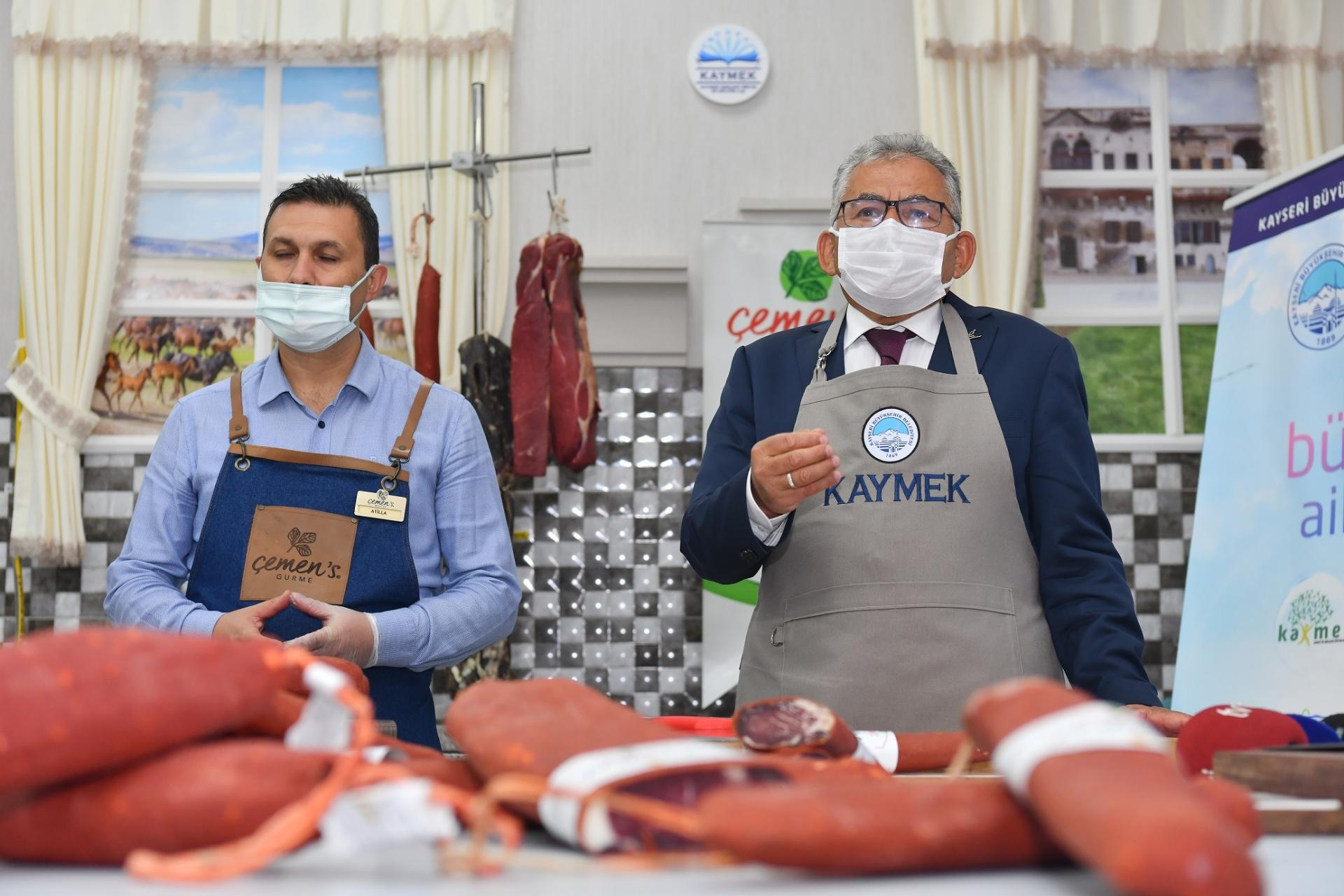 """Büyükşehir'den Lezzetin Anavatanında """"Pastırma"""" Kursu"""