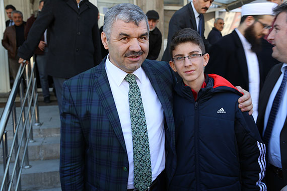Başkan Çelik Cuma'yı Talas'ta Kıldı