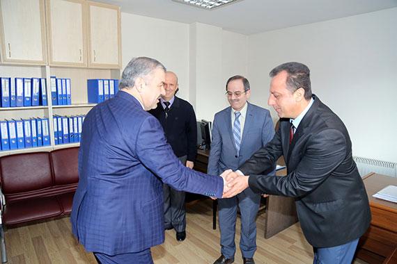 Başkan Çelik'ten Personelle Tanışma Turu