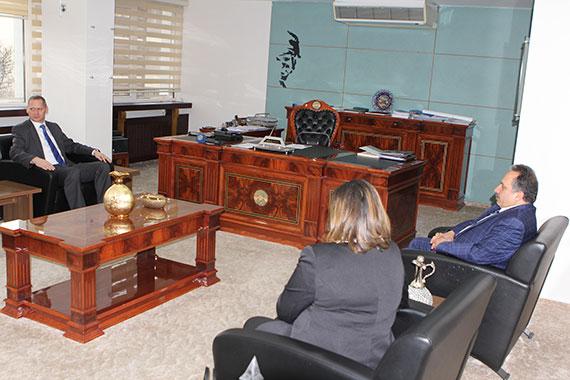 Hırvat Büyükelçi Kayseri'den Çok Etkilendi